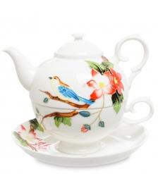 JS-27 Чайный набор Райская птица  Pavone