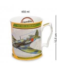 CN-08 Кружка  Самолет МИГ-3 1940 г.  450 мл  Carmani