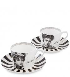 SL-12 Чайный набор на 2 перс.  Викторианская леди   Stechcol