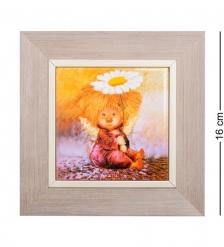 ANG- 40 Панно керамическое  Ангел надежды и веры  10х10