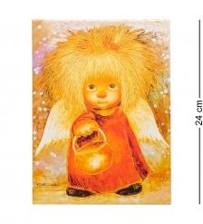 ANG- 58 Жикле  Ангел освещающий жизненный путь  18х24