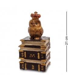 NS-137 Шкатулка  Сова на книге