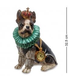 NS-175 Статуэтка с часами «Собака Элизабет»