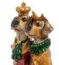 NS-187 Статуэтка Собаки Наполеон и Жозефина