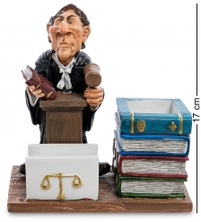 RV-598 Подставка для ручек и визиток «Юрист»  W.Stratford