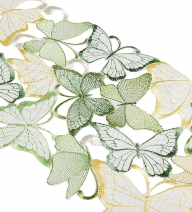 FC-156 Скатерть-дорожка  Танец бабочек  20X160 см