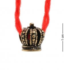 AM-1763 Оберег «Красная нить»  латунь  в асс.