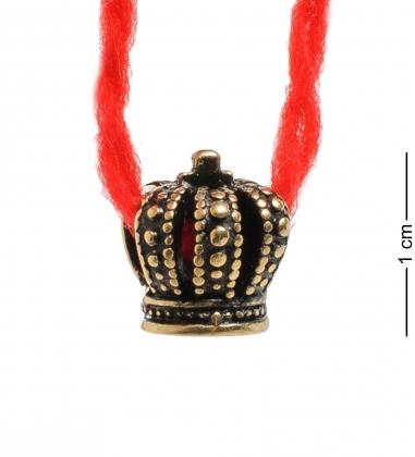 AM-1763 Оберег  Красная нить   латунь  в асс.