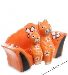 28-052 Статуэтка mini КОШКИ на диване