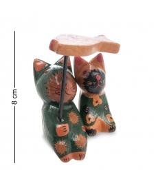 28-059 Статуэтка mini КОТ и КОШКА под зонтиком, набор 2 шт.