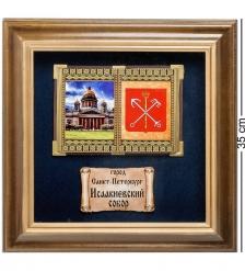 ПК-582 Панно «Санкт-Петербурга Исаакиевский собор» бол. 35х35