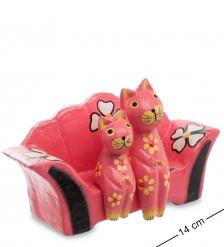 28-061 Статуэтка mini КОШКИ на диване