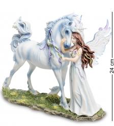 WS-249 Статуэтка «Ангел и Единорог»  Джоди Бергсма