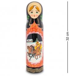 МР-25/ 99 Футляр для бутылки «Тройка» мал.