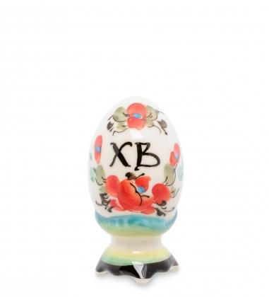 Первая фотография ГЛ-398 Фигурка  Пасхальное яйцо  мал. цв.  Гжельский фарфор
