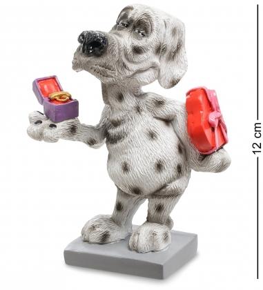RV-909 Статуэтка Собака Далматинец Подарок от чистого сердца  W.Stratford