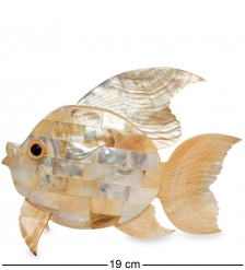 54-008-01 Декоративное изделие из перламутра «Рыба»