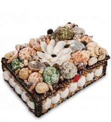 54-047 Декоративная шкатулка  Ракушки