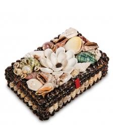 54-049 Декоративная шкатулка  Ракушки