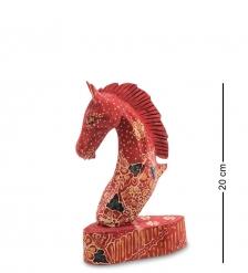 10-014-02 Фигурка «Лошадь»  батик, о.Ява  сред 20 см