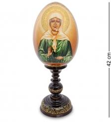 ИКО-37 Яйцо-икона  Святая Матрона Московская  Рябова Г.