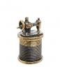 AM-1416 Наперсток  Швейная машинка с магнитом   латунь