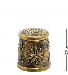 AM-1425 Наперсток  Хризантема   латунь