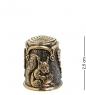 AM-1436 Наперсток  Белочка с орешками   латунь