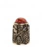 AM-1446 Наперсток  Избушка Бабы Яги   латунь
