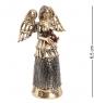 AM-1519 Фигурка  Колокольчик-фея   латунь, янтарь
