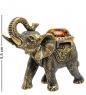 AM-1523 Фигурка  Слон Лаос   латунь, янтарь