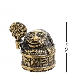 AM-1549 Фигурка  Колокольчик- с легким паром   латунь