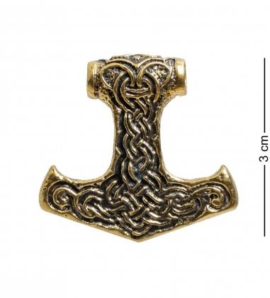 AM-1699 Подвеска  Молот Тора   латунь