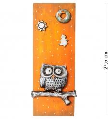 KK-501 Панно  Сова на ветке  шамот
