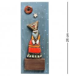 KK-515 Панно  Кошка  шамот