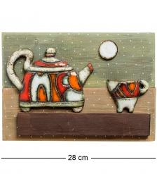 KK-542 Панно  Чайник  шамот