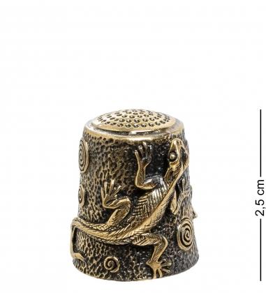 AM-1768 Наперсток  Ящерица   латунь
