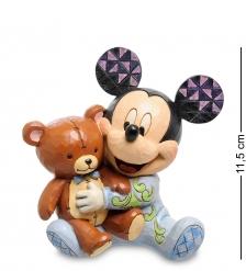 Disney-4046060 Фигурка  Микки Маус с медвежонком  Любимый друг
