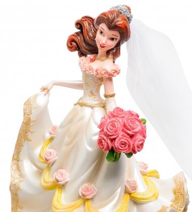 Disney-4045444 Фигурка  Принцесса Белль в свадебном платье