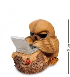 RV-871 Фигурка  Сова с ноутбуком   W.Stratford