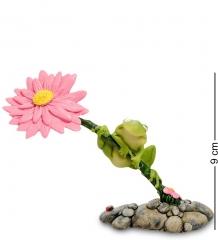 RV-880 Фигурка  Лягушка на цветке   W.Stratford