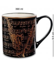 ML-01 Кружка  Звуки джаза  390мл в подарочной коробке