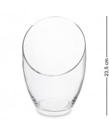 NM-29043  Ваза стеклянная 23,5 см  Неман