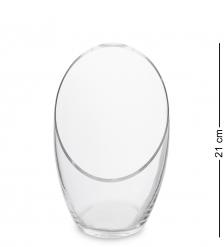 NM-29044  Ваза стеклянная 21 см  Неман