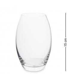 NM-27484  Ваза стеклянная 15 см  Неман