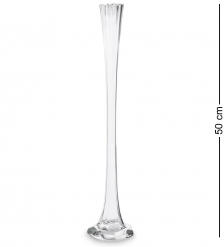 NM-25963  Ваза стеклянная 50 см  Неман