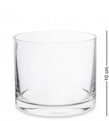NM-29722  Ваза-цилиндр стеклянная 10 см  Неман