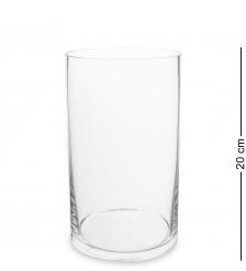 NM-27310  Ваза-цилиндр стеклянная 20 см  Неман