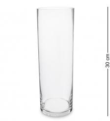 NM-26992  Ваза-цилиндр стеклянная 30 см  Неман