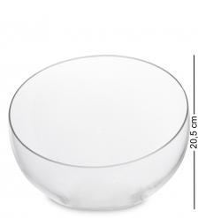 NM-27398  Ваза-шар стеклянная 20,5 см  Неман